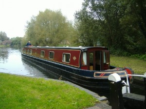 Black Prince Canal Boat